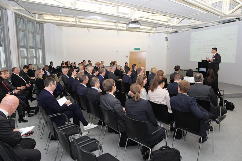 ACA-Symposium Blick in einen Vortrag