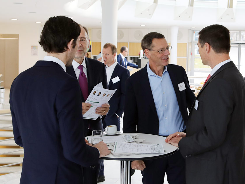Austausch und der Diskussion in Executive Roundtables