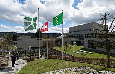 Blick auf das Universitätsgebäude
